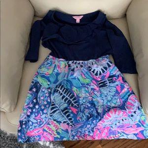 Lily Pulitzer dress sz large/8-10